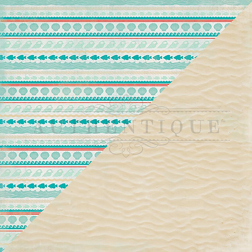 Authentique Paper 12 x 12 Sea-Maiden Collection - Beach Sand