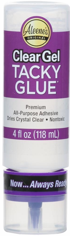 *NEW Aleene's Tacky Clear Gel Always Ready 4 Oz.