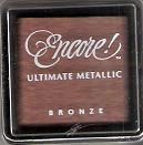 "Tsukineko Encore! Ultimate Metallic Small Ink Pad Bronze 1"" Cube"