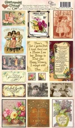 Crafty Secrets Heartwarming Vintage Cuts Friends & Flowers