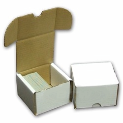 ATC Ready-to-Alter, 125+ Count Cardboard Storage Box - White