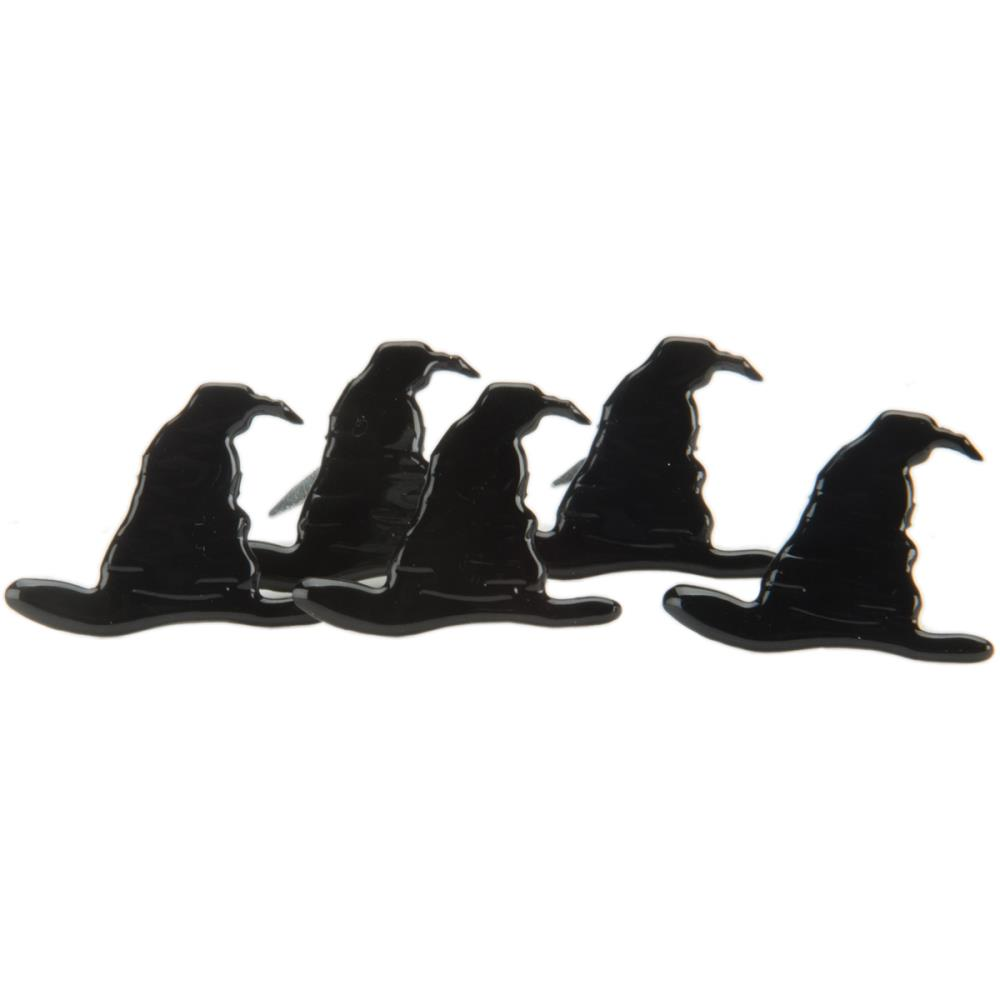Eyelet Outlet Black Witch Hat Brads