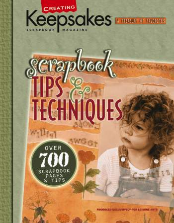 Creating Keepsakes Scrapbook Tips & Techniques 44% OFF