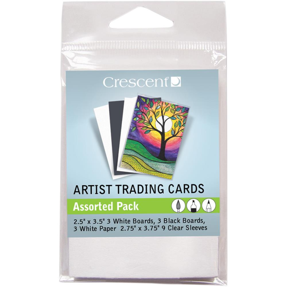 Crescent Artist Trading Card Assortment 18/pkg.