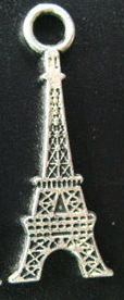 Silver Paris Eiffel Tower Charm