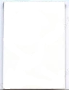 25 - White 100 lb. Blank Cardstock for Artist Trading Cards