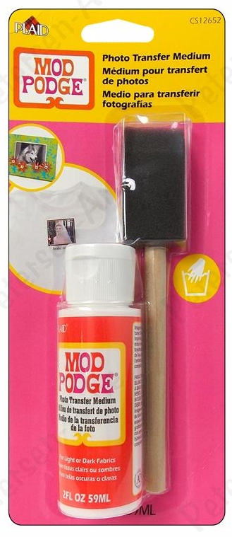 Plaid Mod Podge Photo Transfer Medium Set 2 oz.