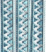 German Foil (Dresden) Paper/Scrap Mini Serrated Borders Lt. Blue