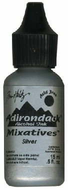 Tim Holtz Adirondack Alcohol Ink Mixative - Silver
