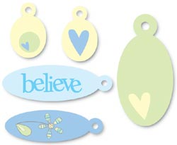 Heidi Grace Pocket Charms - Believe