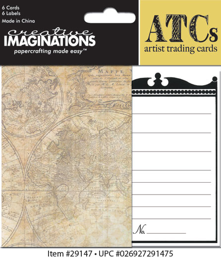Creative Imaginations Life's Journey ATC Card Pack