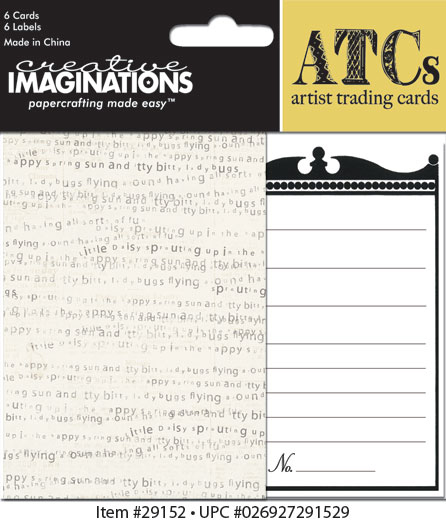 Creative Imaginations Loolah ATC Card Pack