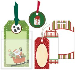 American Traditional Designs Holiday Cheer Tag Pack