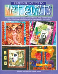 Leisure Arts Beginner's Guide To Art Quilts, Some ATC quilts too