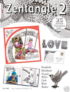 Design Originals - Zentangle 2 with ATCs Examples
