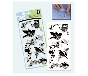 INKADINKADO Birds Galore Stamp Set