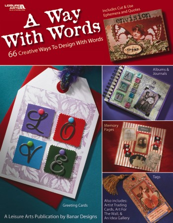 Leisure Arts A Way With Words Book 30% Off