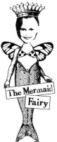 Catslife Press Unmounted Rubber Stamp Mermaid Fairy