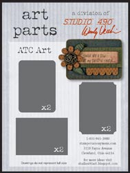 Artist Trading Card Art Parts by Studio 490, Wendy Vecchi