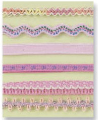Prima Marketing Decorative Pink Ribbon Collection #500030