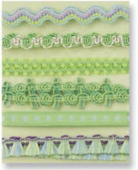Prima Marketing Decorative Light Green Ribbon Collection #500078