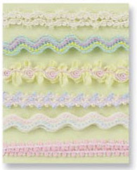 Prima Marketing Decorative Pastel Ribbon Collection #500184