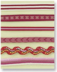 Prima Marketing Decorative Red Ribbon Collection #500252