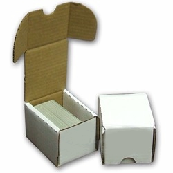 ATC Ready-to-Alter, 50+ Count Cardboard Storage Box - White