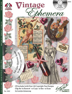 Design Originals Vintage Ephemera Book & CD