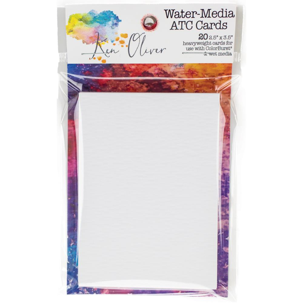 Ken Oliver Water Color & Media ATC Paper 20/pk.