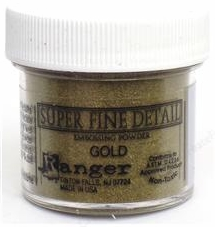 Ranger Industries Super Fine Detail Embossing Powder - Gold