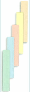 Leisure Arts Cardstock Pack - 2 in. x 12 in. - Pastel Paper