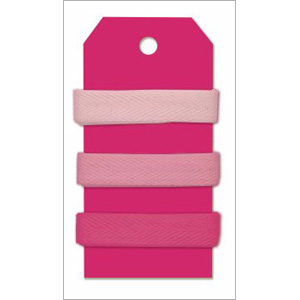 Leisure Arts Ribbon Set - Bright & Sassy Pink
