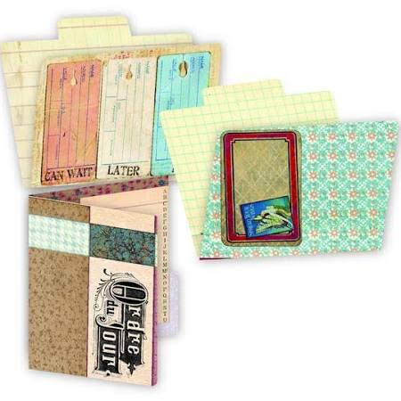 7 Gypsies Printed ATC Folders - Ordre Du Jour
