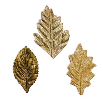 7 Gypsies Beautiful Velvet Leaves - Meadow Green 30/pkg.