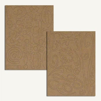 7 Gypsies Chipboard Pieces -  Fleurish
