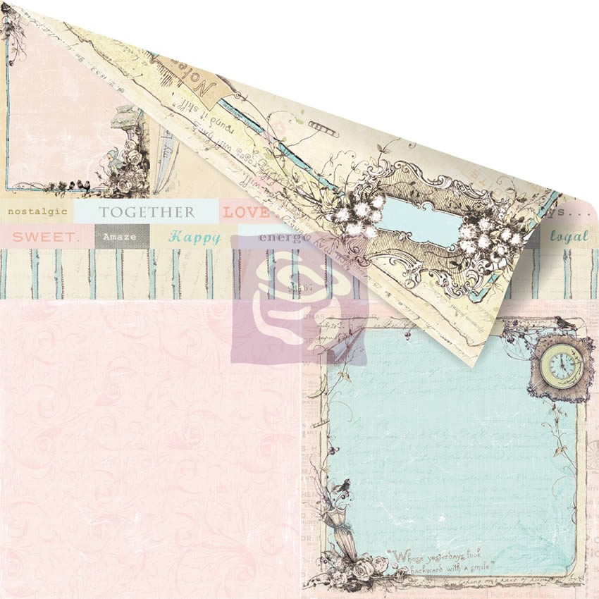 Prima 12 x 12 Double Sided Pixie Glen Paper - Devon