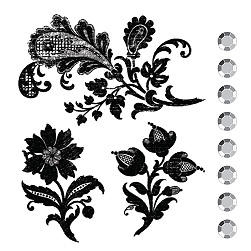 Prima Marketing Clear Stamp Kit Club Stamp Set - Flowers #850715