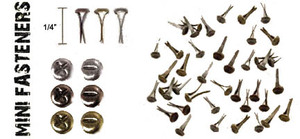 Tim Holtz Idea-ology Mini Screw Top Paper Fasteners