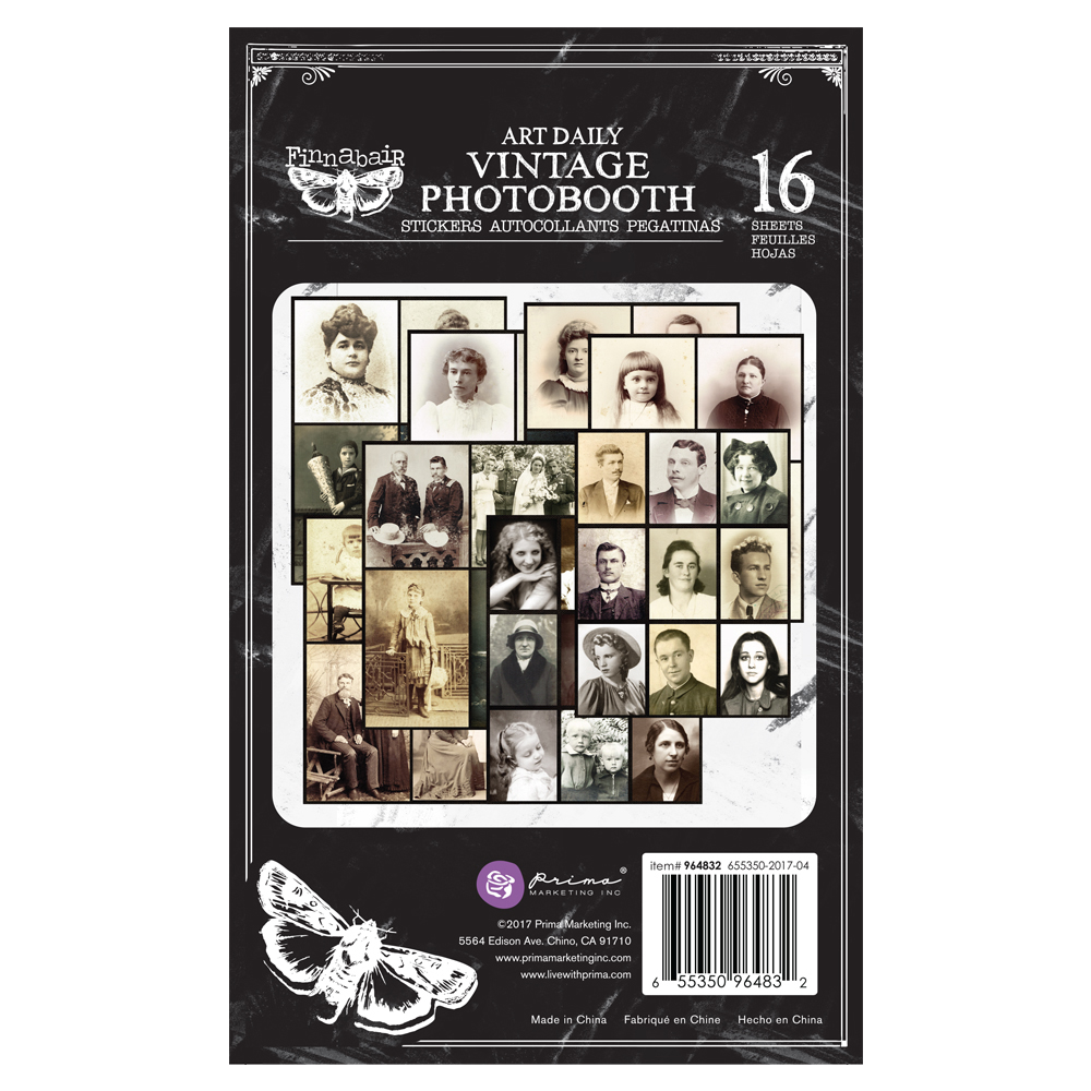 *NEW Prima Marketing Planner Sticker Pad - Photobooth