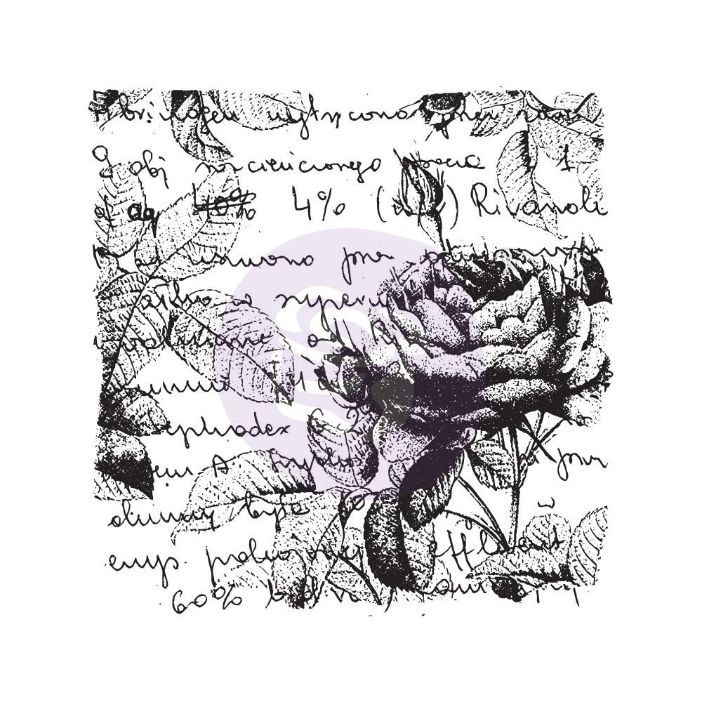 *NEW Prima Marketing 2 3/4 in. x 2 1/4 in. Clear Stamp Rose Luv