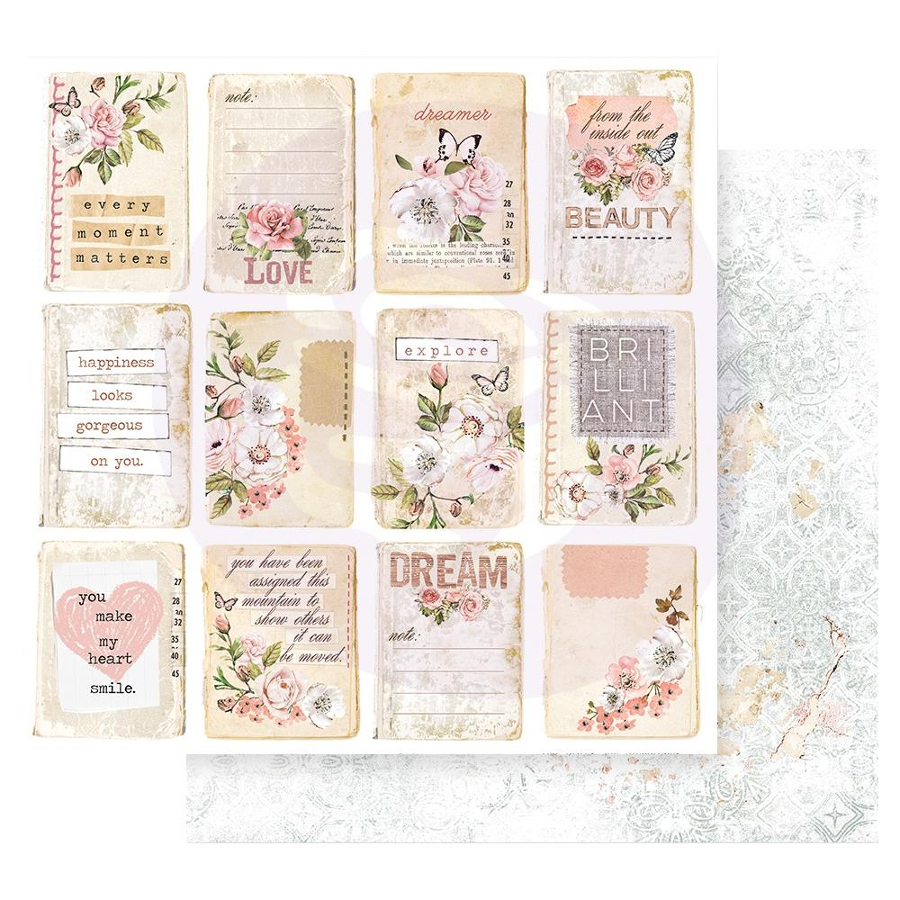 *NEW Prima 12 x 12 Apricot Honey - Happiness Looks Good On You