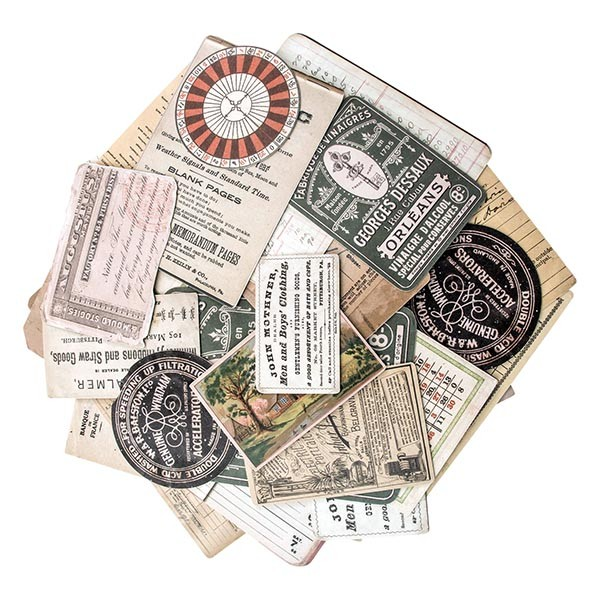*NEW Tim Holtz Idea-ology Ephemera Layers - Collector