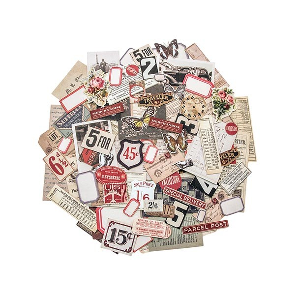 *NEW Tim Holtz Idea-ology Ephemera Packs - Snippets