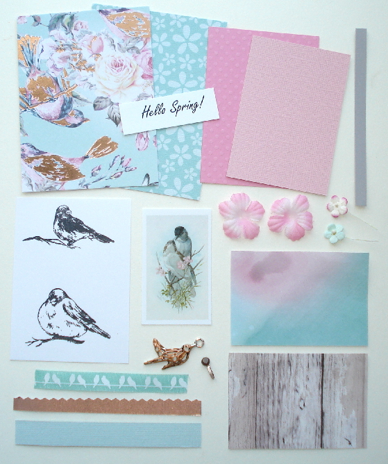 Artist Trading Card Kit of the Month - April 2019 Spring
