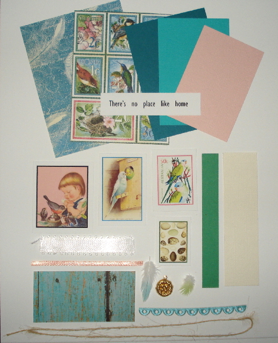 Artist Trading Card Kit of the Month - April 2021 Spring Birds