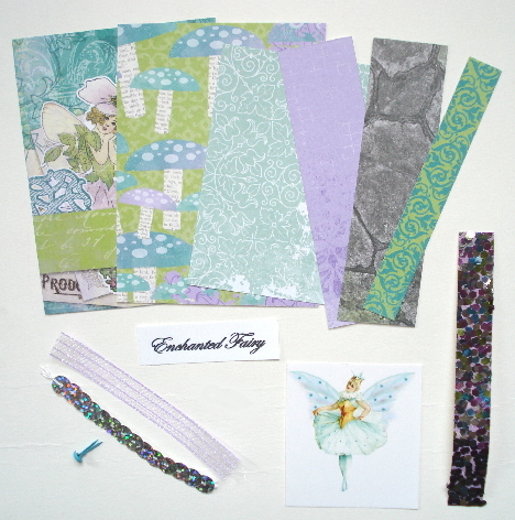 Artist Trading Card Kit of the Month - Aug 2014 Enchanted Garden