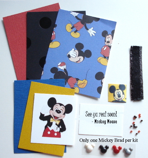 Artist Trading Card Kit of the Month - Aug 2020 Mickey Mouse