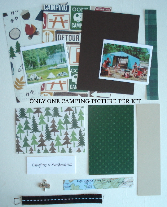 Artist Trading Card Kit of the Month - Aug 2017 Camping