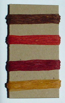 Irish Waxed Linen Book Binding Thread - Autumn Combo Asst.